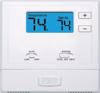 Wireless Remote PTAC Thermostat